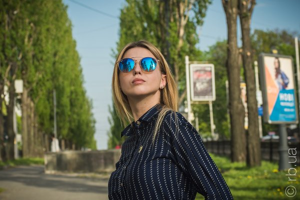 Ray-Ban Highstreet RB3546 9011/8B на людях 1