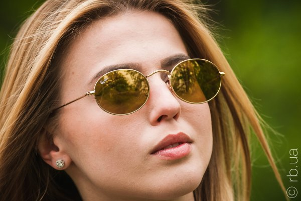 Ray-Ban Oval Flat Lenses RB3547N 001/93 на людях 7