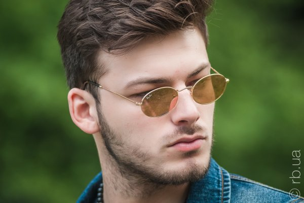 Ray-Ban Oval Flat Lenses RB3547N 001/Z2 на людях 3