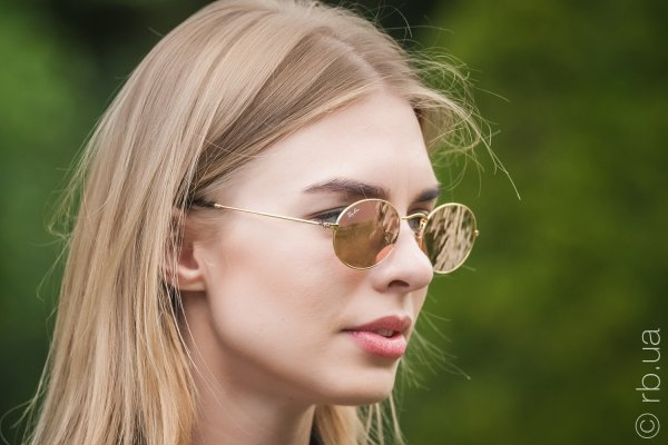 Ray-Ban Oval Flat Lenses RB3547N 001/Z2 на людях 6