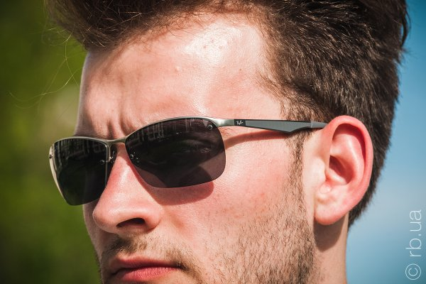 Ray-Ban Active Lifestyle RB3550 019/81 на людях 1