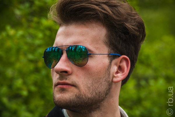 Ray-Ban Youngster Aviator RB3558 9016/B7 на людях 5
