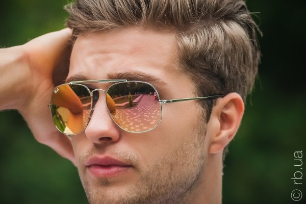 Ray-Ban The General RB3561 003/7O на людях 6