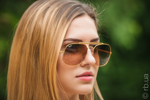 Ray-Ban The General RB3561 9001/A5 на людях 2