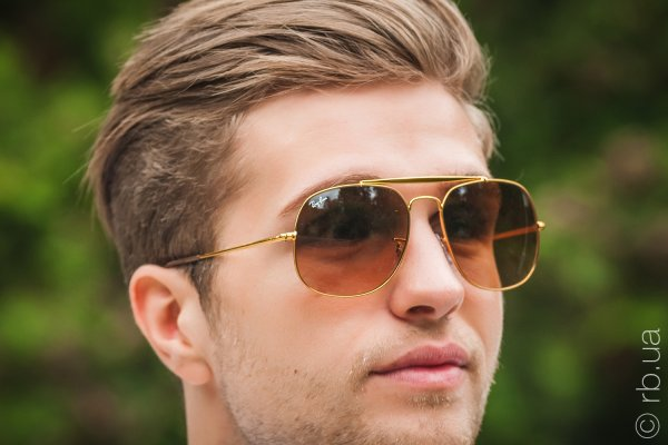 Ray-Ban The General RB3561 9001/A5 на людях 6