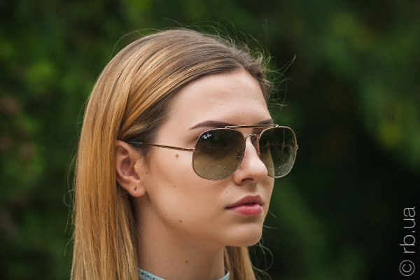 Ray-Ban The General RB3561 9002/A6 на людях 6