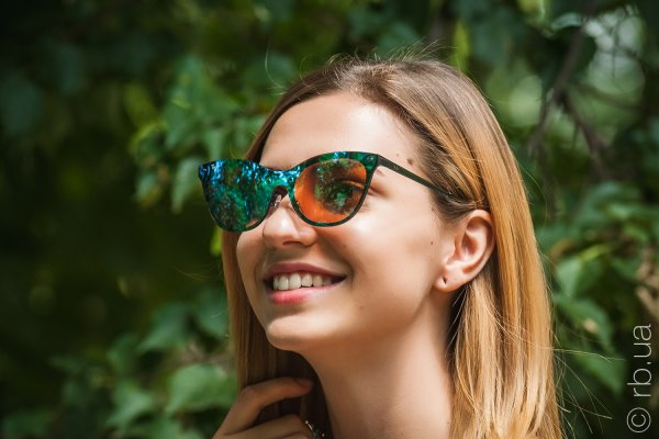 Ray-Ban Blaze Cats RB3580N 153/7V на людях 3