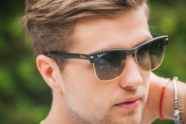 Ray-Ban Oversized Clubmaster RB4175 877/76 на людях 3
