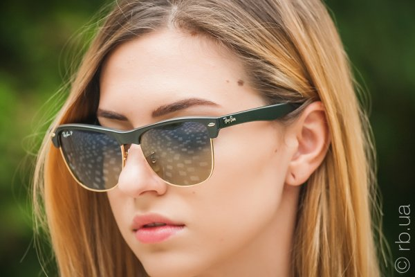 Ray-Ban Oversized Clubmaster RB4175 877/76 на людях 5
