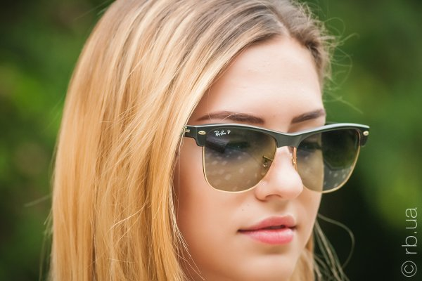 Ray-Ban Oversized Clubmaster RB4175 877/76 на людях 6