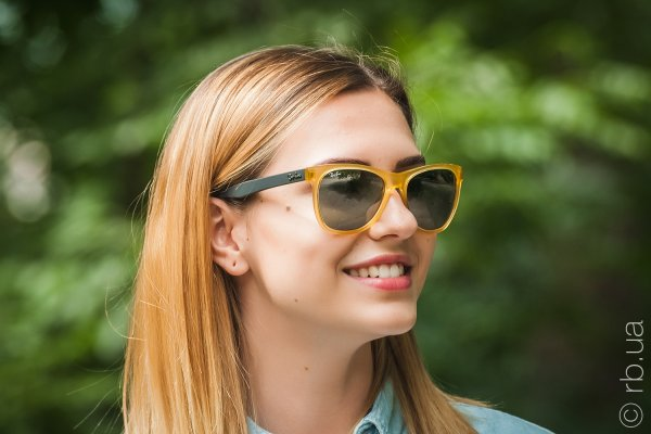 Ray-Ban Highstreet RB4184 6043/40 на людях 6