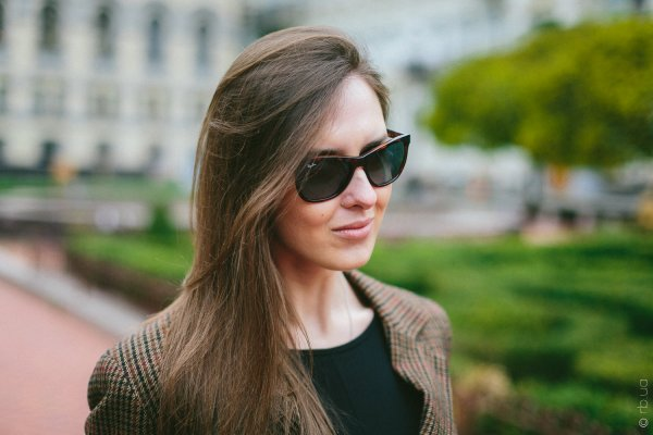 Ray-Ban Highstreet RB4184 6101/4M на людях 1