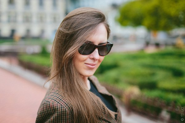 Ray-Ban Highstreet RB4184 6101/4M на людях 2