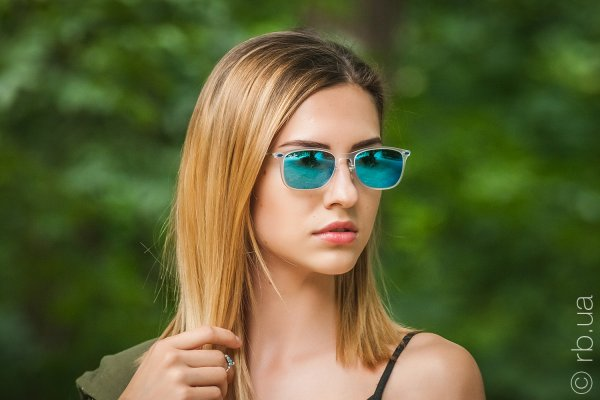 Ray-Ban New Wayfarer LightRay RB4225 646/55 на людях 6