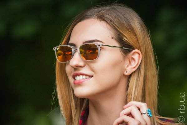 Ray-Ban New Wayfarer LightRay RB4225 646/6Q на людях 5