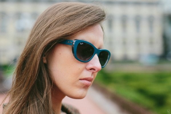Ray-Ban Highstreet RB4227 6191/8G на людях 2