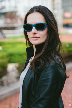 Ray-Ban Highstreet RB4227 6191/8G на людях 3
