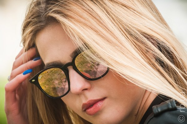 Ray-Ban Highstreet RB4258 6231/1N на людях 4