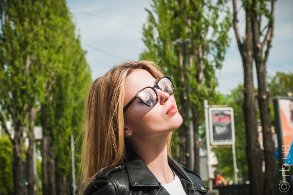 Ray-Ban Highstreet RB4258 6231/1N на людях 6