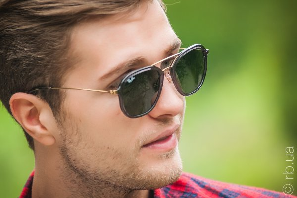 Ray-Ban Highstreet RB4273 6237 на людях 3
