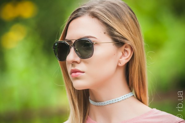 Ray-Ban Highstreet RB4273 6237 на людях 6