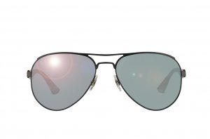 Очки Ray-Ban Active Lifestyle Aviator RB3523-006-6G Matt Black | APX Silver Mirror