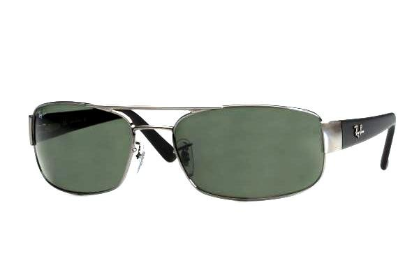 Очки Ray-Ban Active Lifestyle RB3188-004 Gunmetal | Natural Green (G-15 XLT)