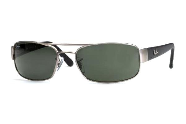 Очки Ray-Ban Active Lifestyle RB3188-005 Matte BLack/ Matte Gunmetal | Natural Green (G-15 XLT)
