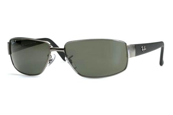 Очки Ray-Ban Active Lifestyle RB3189-004-48 Gunmetal | Natural Green Polarized