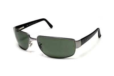 Очки Ray-Ban Active Lifestyle RB3189-004 Matt Black / Gunmetal | Natural Green (G-15 XLT)