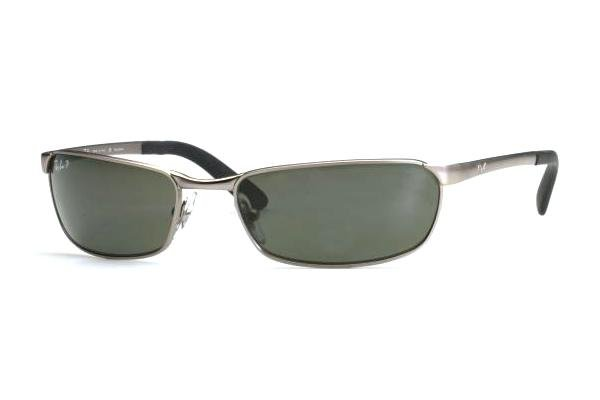 Очки Ray-Ban Active Lifestyle RB3190-005-48 Matt Gunmetal | Natural Green Polarized
