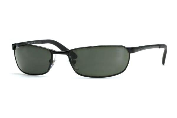 Очки Ray-Ban Active Lifestyle RB3190-006 Matte BLack | Natural Green