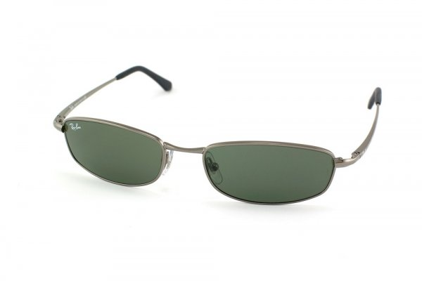 Очки Ray-Ban Active Lifestyle RB3198-004 Gunmetal | Naural Green (G-15 XLT)
