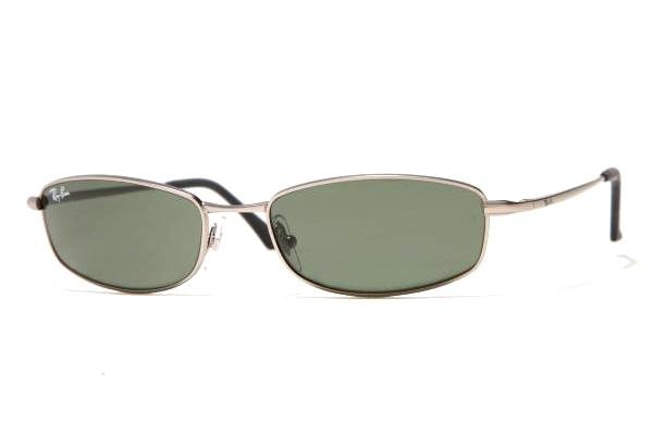 Очки Ray-Ban Active Lifestyle RB3198-005 Matte Gunmetal | Natural Green (G-15 XLT)