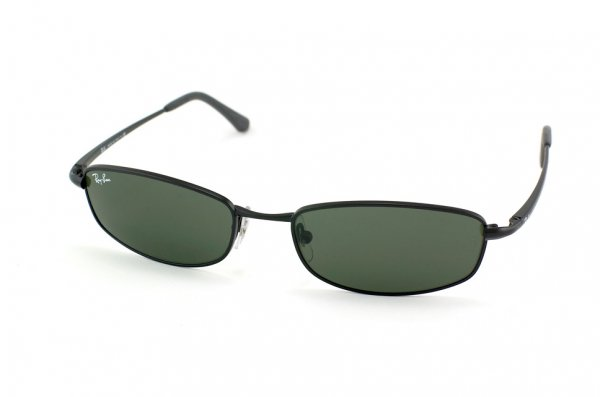 Очки Ray-Ban Active Lifestyle RB3198-006 Matt Black | Natural Green (G-15XLT)