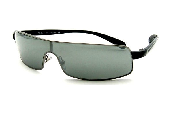 Очки Ray-Ban Active Lifestyle RB3243-004-6G Gunmetal | Gray Silver Mirror