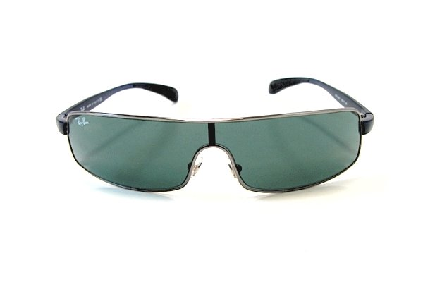 Очки Ray-Ban Active Lifestyle RB3243-004-71 Gunmetal | Poly. Grey/Green