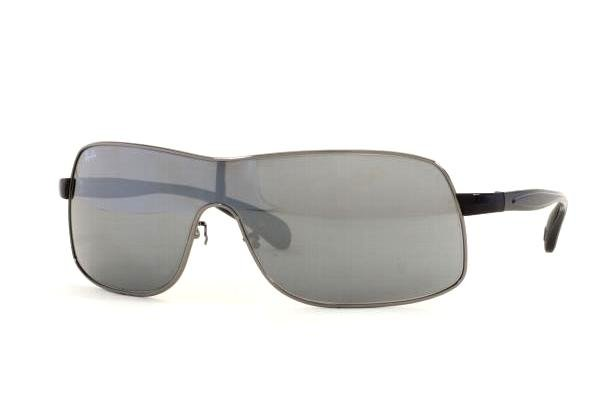 Очки Ray-Ban Active Lifestyle RB3244-004-6G Gunmetal | Gray Silver Mirror