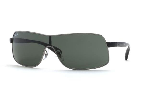 Очки Ray-Ban Active Lifestyle RB3244-004-71 Gunmetal | Poly. Grey/Green