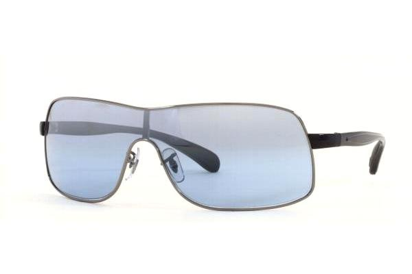 Очки Ray-Ban Active Lifestyle RB3244-004-7C Gunmetal | Sky Blue Silver Mirror