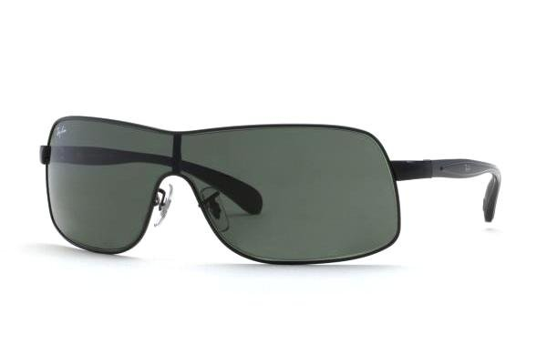 Очки Ray-Ban Active Lifestyle RB3244-006-71 Matt Black | APX Grey/Green
