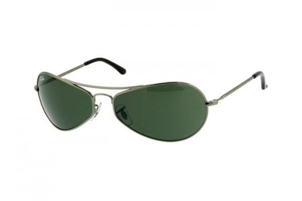 Очки Ray-Ban Active Lifestyle RB3253-004 Gunmetal / Natural Green (G-15XLT)