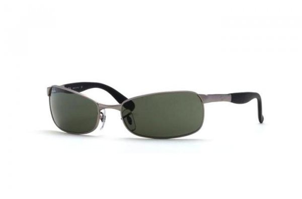 Очки Ray-Ban Active Lifestyle RB3255-005 Matte Gunmetal | Natural Green (G-15 XLT)