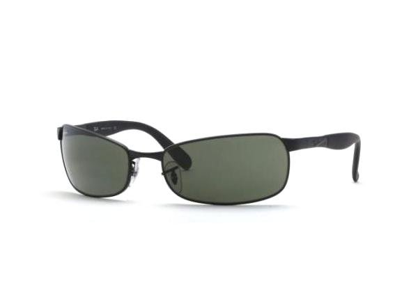 Очки Ray-Ban Active Lifestyle RB3255-006 Matte BLack | Natural Green (G-15 XLT)