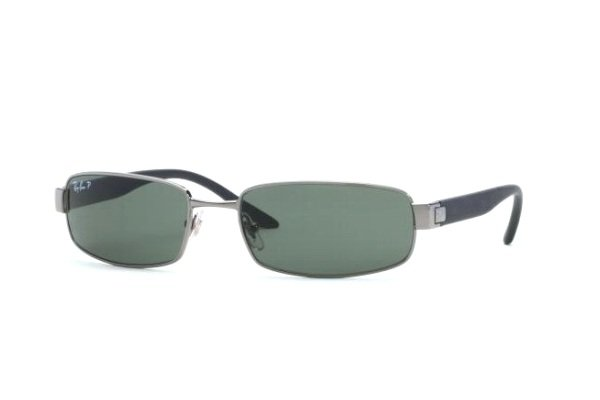 Очки Ray-Ban Active Lifestyle RB3256-004-58 Gunmetal | Natural Green Polarized