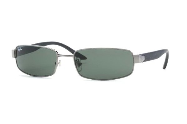 Очки Ray-Ban Active Lifestyle RB3256-004 Gunmetal | Natural Green (G-15 XLT)