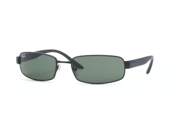 Очки Ray-Ban Active Lifestyle RB3256-006 Matte BLack | Natural Green (G-15 XLT)