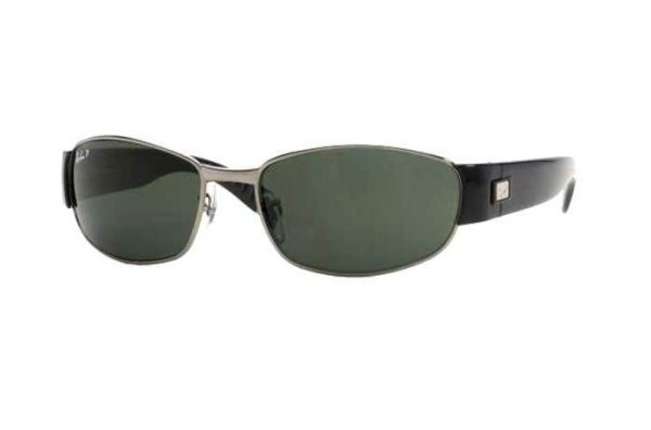 Очки Ray-Ban Active Lifestyle RB3294-004-58 Gunmetal / Black | Natural Green Polaraized