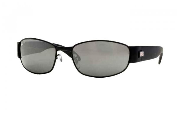 Очки Ray-Ban Active Lifestyle RB3294-006-59 Matte Black | Natural Green Polarized