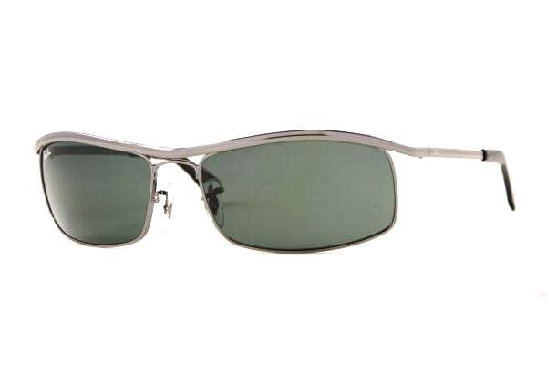 Очки Ray-Ban Active Lifestyle RB3339-004 Gunmetal | Natural Green(G-15)